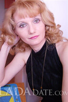 Ukraine ladies for marriage ksenia from feodosiya with Blonde hair age 45