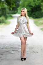 Ukrainian women for dating alina from kharkov with Blonde hair age 31