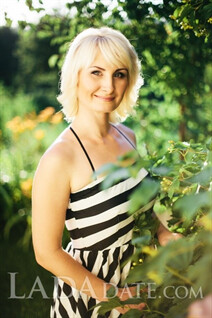 Ukraine girl model inna from chuguev with Blonde hair age 40