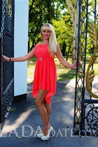 Beautiful women of ukraine vera from nikolaev with Blonde hair age 30