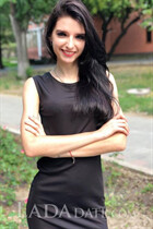Beautiful russian bride karina from zaporozhye with Black hair age 22