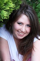 Beautiful Ukraine woman anna from pervomaysk with Dark Brown hair age 28