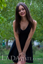 Ukranian women for marriage zhanna from kremenchug with Black hair age 24
