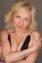 Order a woman online victoriya from nikolaev with Blonde hair age 47