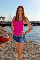 Russian bride online elena from nikolaev with Light Brown hair age 21