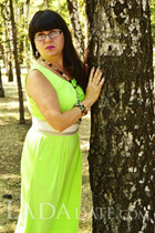 Single women ukraine anna from krivoy rog with Black hair age 41