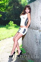 Ukraine romance tours with kristina from odessa with Dark Brown hair age 27