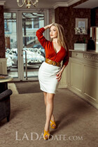 Ukraine pretty alexandra from kishinev with Blonde hair age 22