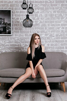 Ukrainian girl model alyona from kharkov with Blonde hair age 27