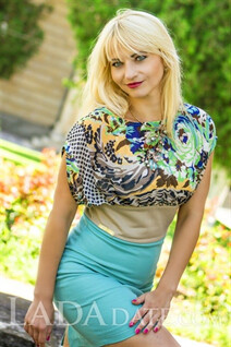 Sexy Ukrainian bride elena from kherson with Blonde hair age 34