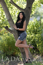 Russian single woman anjelika from kharkov with Black hair age 30