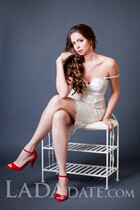 Ukrainian russian women marina from nikolaev with Light Brown hair age 35