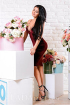 Lovely Ukrainian girl ekaterina from krivoy rog with Black hair age 40