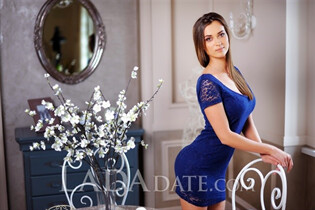 Single Ukrainian bride anastasiya from kramatorsk with Light Brown hair age 27