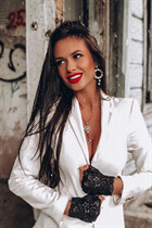 Russian hot lady krestina from kiev with Dark Brown hair age 31