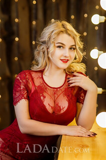 Ukrainian women anna from zaporozhye with Blonde hair age 22