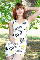 Single women in ukraine alina from dnepr with Dark Brown hair age 21