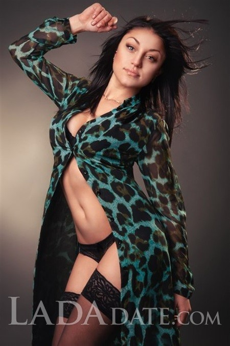 Pretty Russian girl daria from kharkov with Black hair age 25
