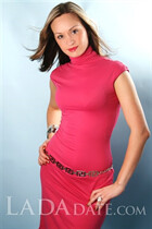From Ukraine woman olga from kharkov with Light Brown hair age 39