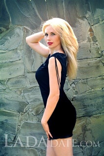 Bride in Ukraine marina from chuguev with Blonde hair age 44
