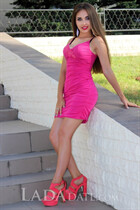 Mail order bride ukraine albina from kherson with Dark Brown hair age 27