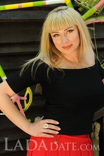 Ukranian women for marriage evgenia from mariupol with Blonde hair age 40