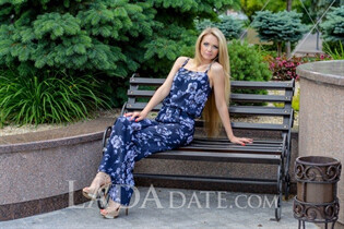 Ukrainian mail order bride elena from odessa with Blonde hair age 38
