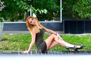 Ukraine bride nika from ternopol with Blonde hair age 30