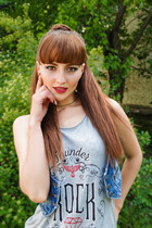 Russian brides in bikini christina from kherson with Light Brown hair age 30