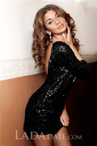 Ukraine pretty natalia from kharkov with Light Brown hair age 30