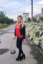 Beautiful women of ukraine olga from zaporozhye with Blonde hair age 20