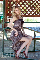 Hot mail order bride lolita from kherson with Blonde hair age 28