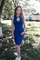 Mail order bride ukraine marina from vinnitsa with Blonde hair age 19