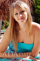 Ukraine single woman tatyana from kherson with Blonde hair age 30