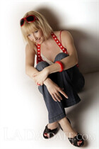 Russian bride in bikini natasha from kharkov with Blonde hair age 55