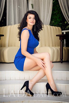 Ukraine woman marriage alina from kherson with Dark Brown hair age 31