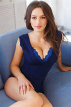 Ukrainian mail order bride oksana from dnipro with Dark Brown hair age 29
