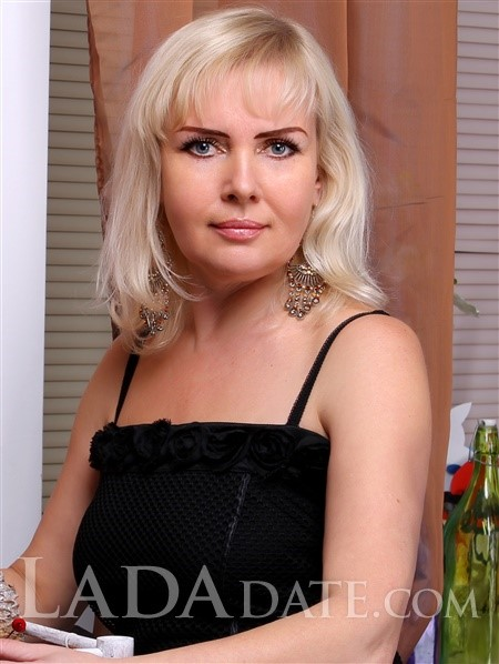 Mail order bride catalog viktoria from kharkov with Blonde hair age 51