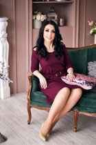 Order russian wife victoria from mariupol with Dark Brown hair age 39