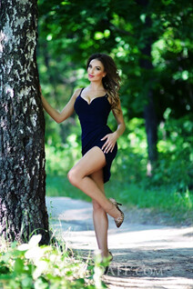 Ukrainian mail order bride diana from kharkov with Light Brown hair age 31