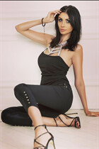 International bride viktoriya from kiev with Black hair age 36