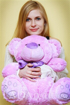 Ukraine romance tours with anna from cherkassy with Blonde hair age 29