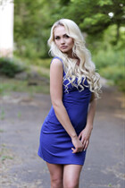 Beautiful women ukraine alina from donetsk with Blonde hair age 32