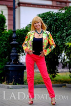 Bride dating foreign single woman nadezhda from odessa with Blonde hair age 58