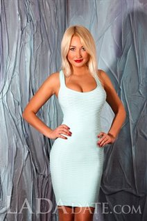 Single Ukrainian lady anastasia from zdolbunov with Blonde hair age 25