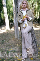 Ukraine ladies for marriage ksenia from feodosiya with Blonde hair age 44