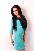 Ukriane bride oksana from kharkov with Dark Brown hair age 41