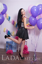 Mail order wives alina from lugansk with Black hair age 24