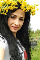 Ukranian mail order bride rimma from dnepr with Black hair age 32