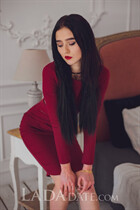 Hot ukrainian angelika from vinnitsa with Black hair age 18